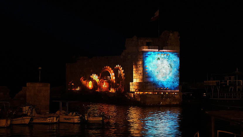 Byblos 3D Mapping Event – 2014